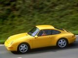 Porsche 911 Carrera 3.6 Coupe (993) 1993–97 wallpapers
