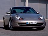 Porsche 911 Carrera Coupe (996) 1997–2001 wallpapers