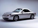 Porsche 911 Carrera Cabriolet (996) 1998–2001 wallpapers