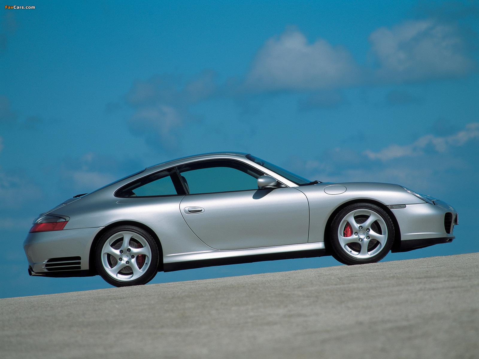 Porsche 911 Carrera 4s Coupe 996 2001 04 Wallpapers 1600x1200