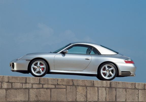 Porsche 911 Carrera 4s Cabriolet 996 200405 Wallpapers
