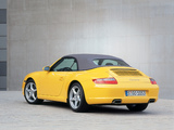 Porsche 911 Carrera Cabriolet (997) 2005–08 wallpapers