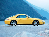 Porsche 911 Carrera 4 Cabriolet (997) 2006–08 wallpapers