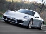 Porsche 911 Carrera 4 Coupe (991) 2012 wallpapers