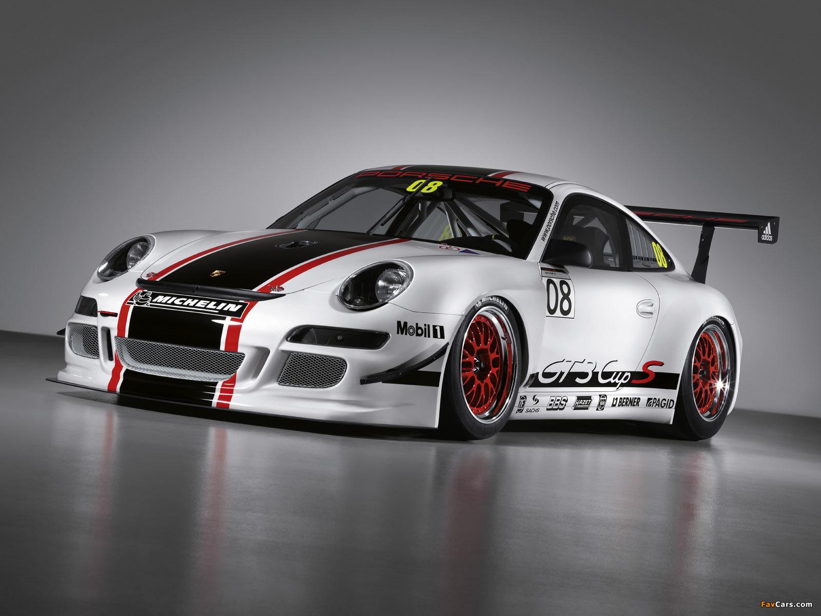 Porsche 911 Gt3 Cup S 997 2008 Wallpapers 1600x1200