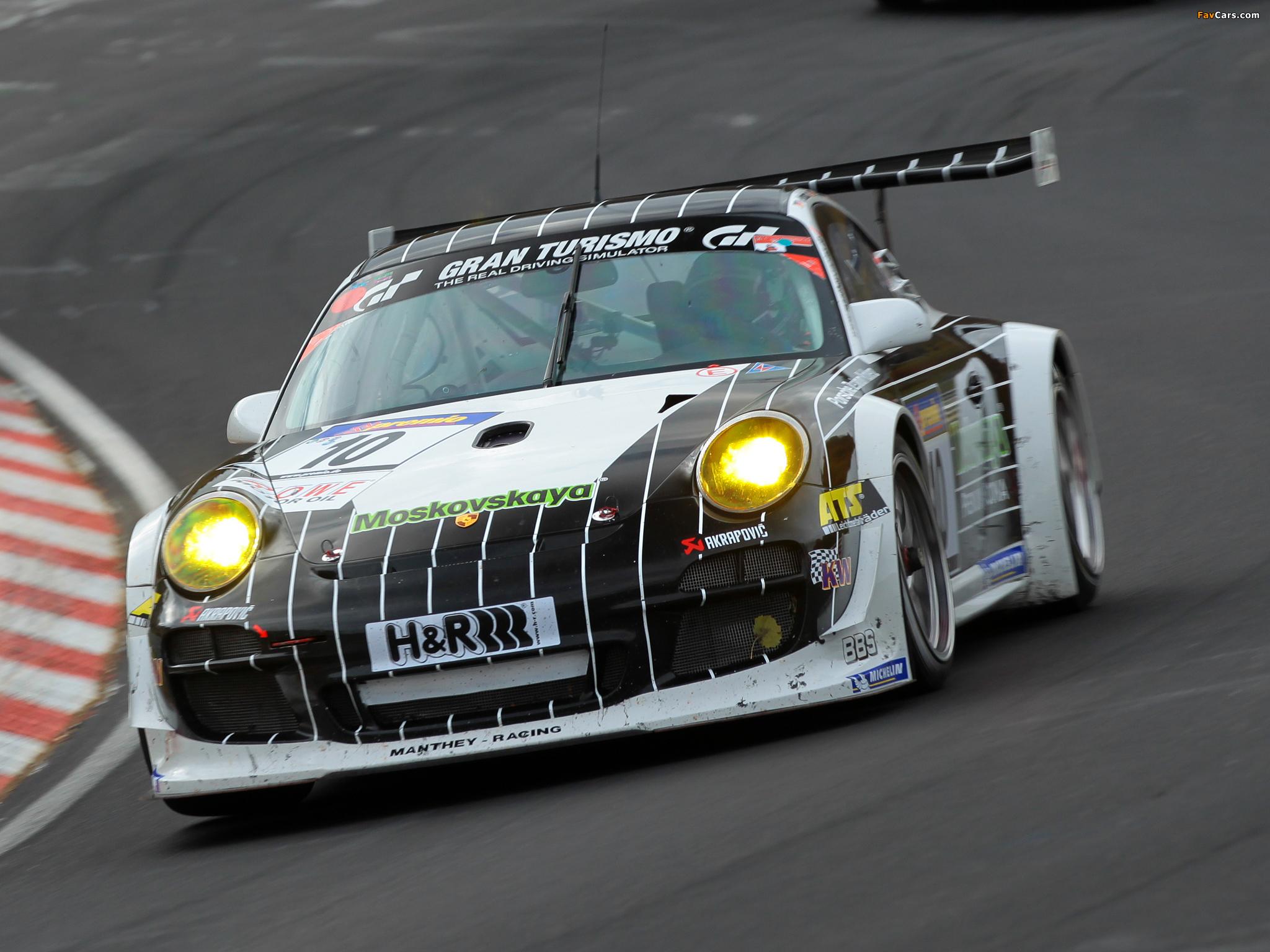 Porsche 911 GT3 R (997) 2009–12 wallpapers (2048 x 1536)