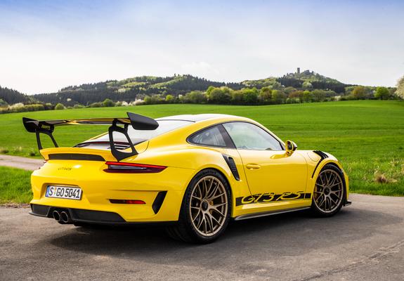 Porsche 911 Gt3 Rs Weissach Package Worldwide 991 2018