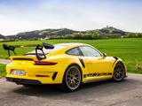 Porsche 911 GT3 RS Weissach Package Worldwide (991) 2018 wallpapers