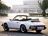 Porsche 911 SC 3.0 Cabriolet (911) 1982–83 pictures