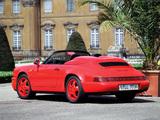 Pictures of Porsche 911 Speedster (964) 1992–94