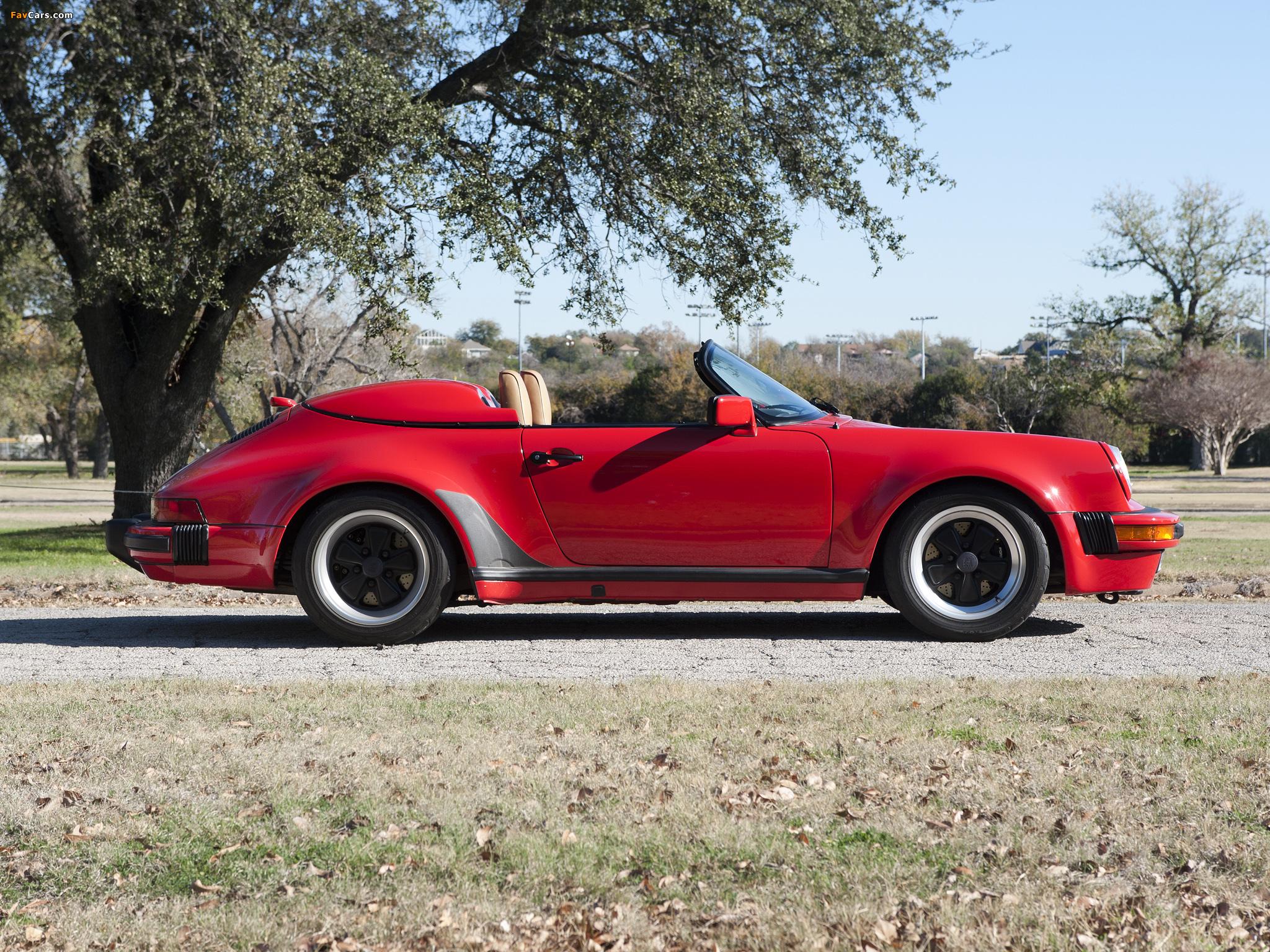 Porsche 911 Carrera Speedster Turbolook 930 1989 Pictures 2048x1536