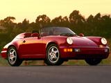 Porsche 911 Speedster US-spec (964) 1992–94 photos