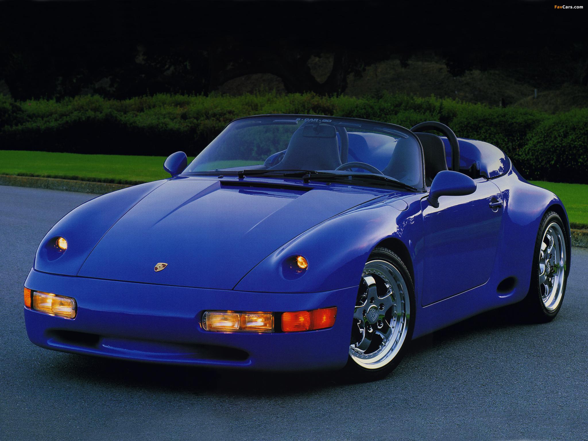 Strosek Porsche 911 Speedster 993 1994 Pictures 2048x1536