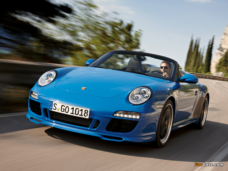 Porsche 911 Speedster 997 2010 Photos 800x600
