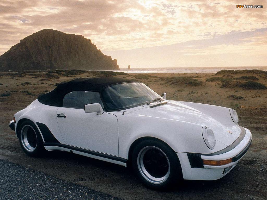 Porsche 911 Carrera Speedster Turbolook 930 1989 Images