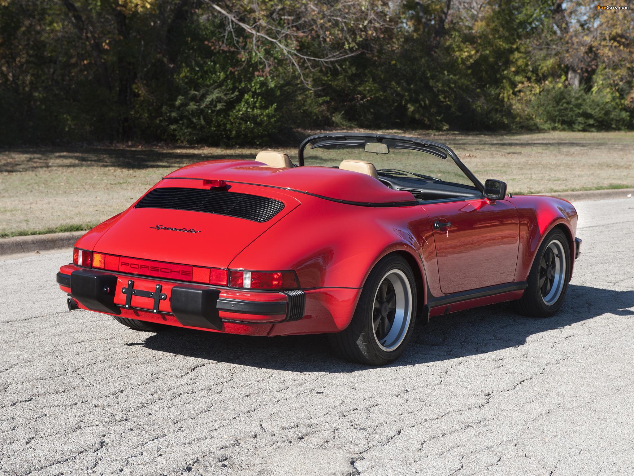 Porsche 911 Carrera Speedster Turbolook 930 1989