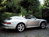 Porsche 911 Carrera Speedster (993) 1995–98 images