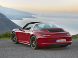 Photos of Porsche 911 Targa 4 GTS (991) 2015