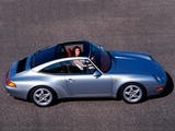 Photos of Porsche 911 Targa (993) 1995–97