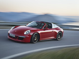 Pictures of Porsche 911 Targa 4 GTS (991) 2015