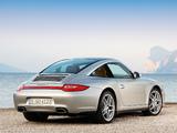 Porsche 911 Targa 4 (997) 2008 photos