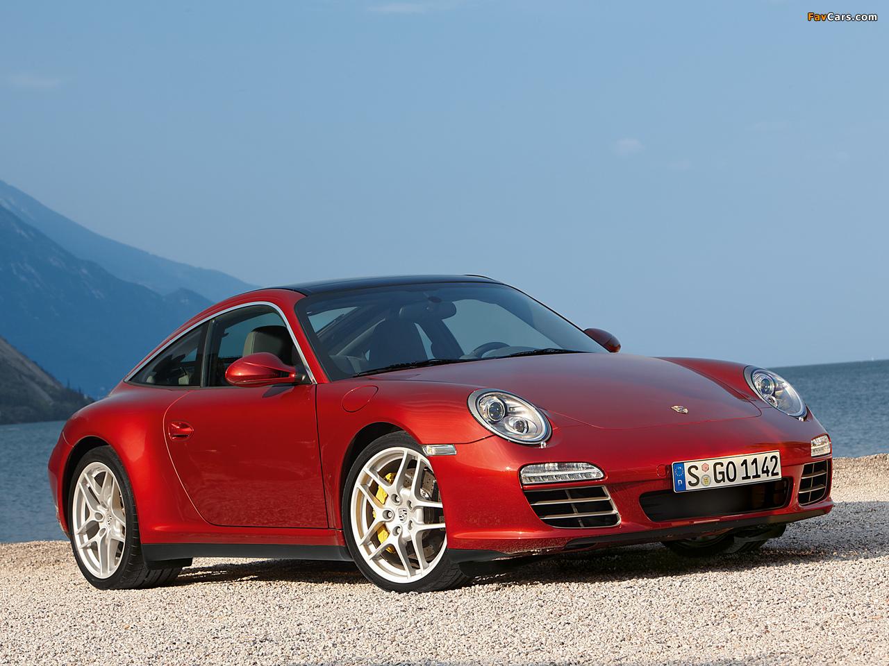 Porsche 911 Targa 4s 997 2008 Pictures 1280x960