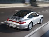 Porsche 911 Targa 4 (997) 2008 wallpapers