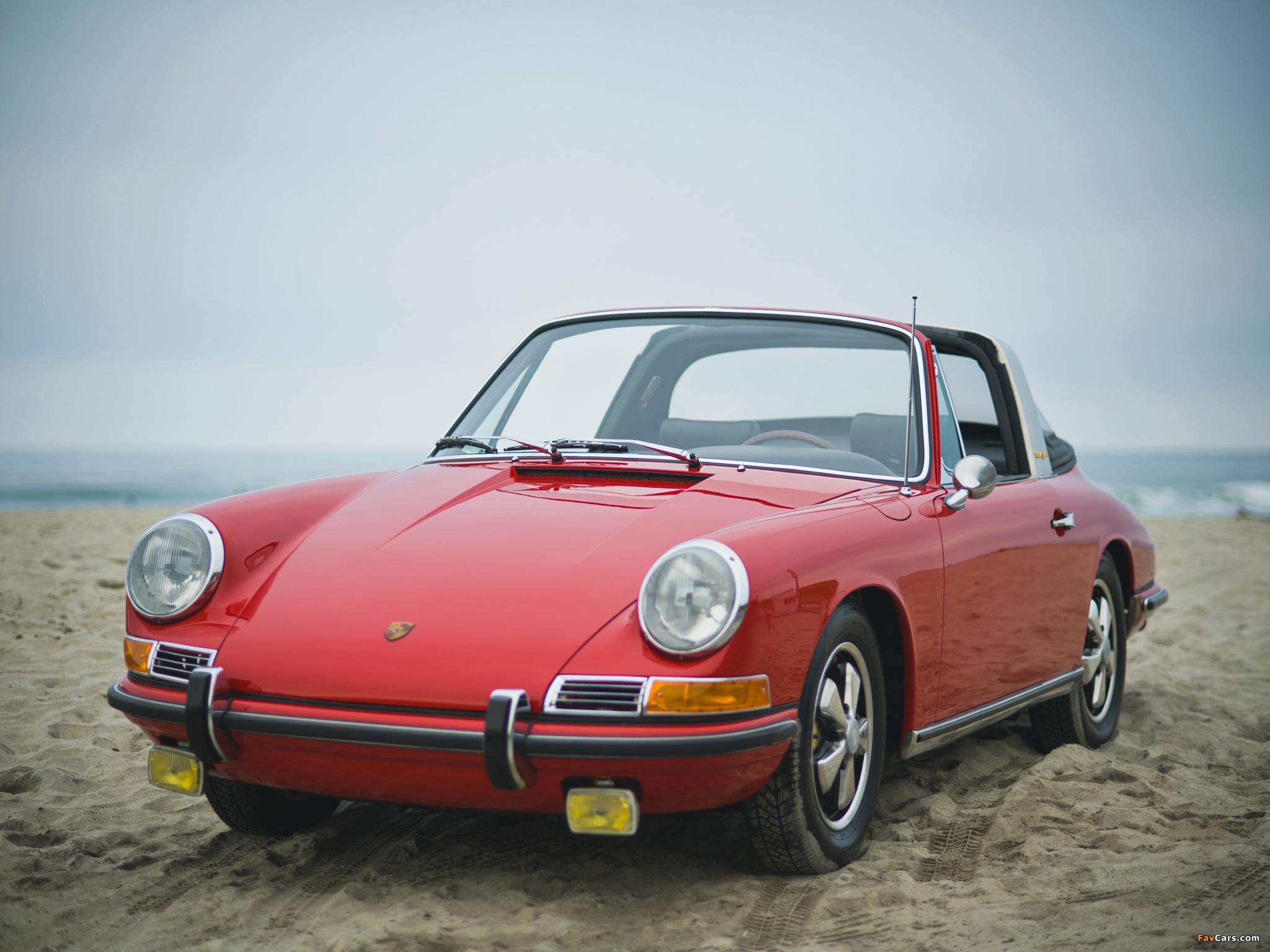 Porsche 911 S 2.0 Targa (901) 1966–68 pictures