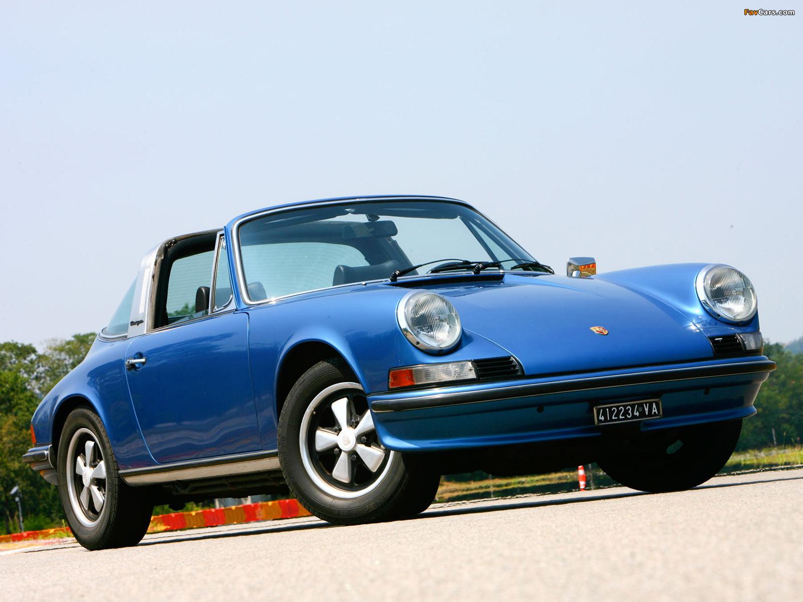 Porsche 911 S 2 4 Targa 901 1971 73 Images 1600x1200