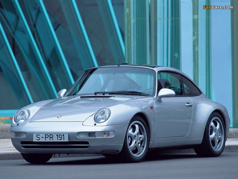 Porsche 911 Targa (993) 1995–97 photos (800 x 600)