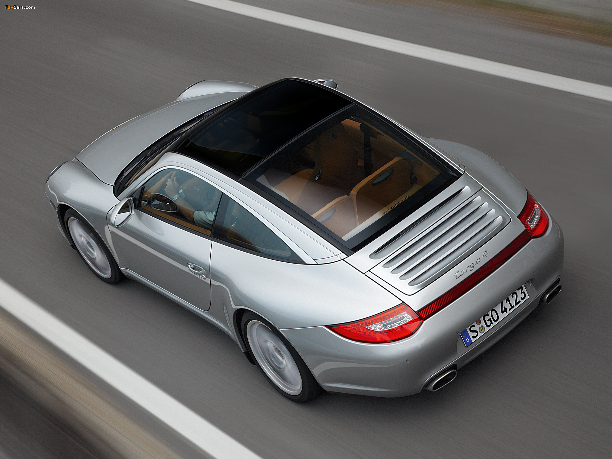 Porsche 911 Targa 4 997 2008 Wallpapers 2048x1536