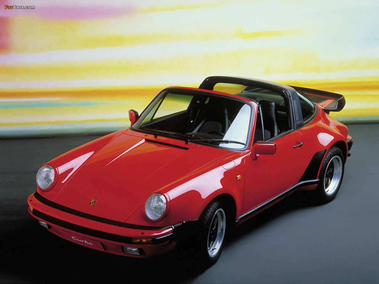 Porsche 911 Turbo 3 3 Targa 930 1987 89 Wallpapers 1280x960