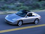 Porsche 911 Targa US-spec (996) 2002–05 wallpapers