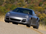 Images of Porsche 911 Turbo Coupe US-spec (997) 2006–08