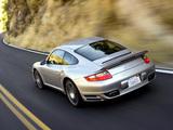 Photos of Porsche 911 Turbo Coupe US-spec (997) 2006–08