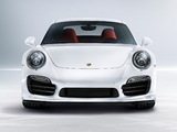 Photos of Porsche 911 Turbo S (991) 2013