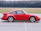 Photos of Porsche 911 Turbo 3.6 Flachbau (964) 1993–94