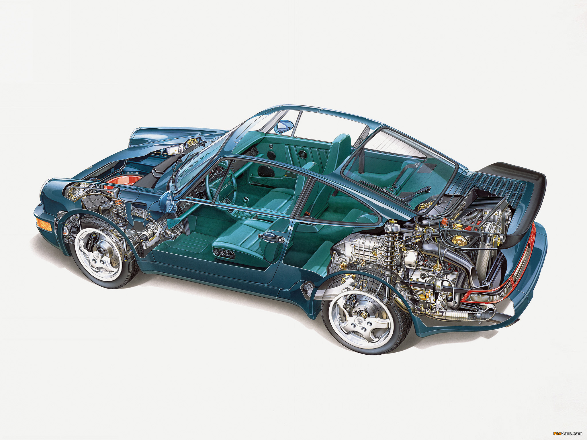 Pictures Of Porsche 911 Turbo 3 3 Coupe 964 1990 92