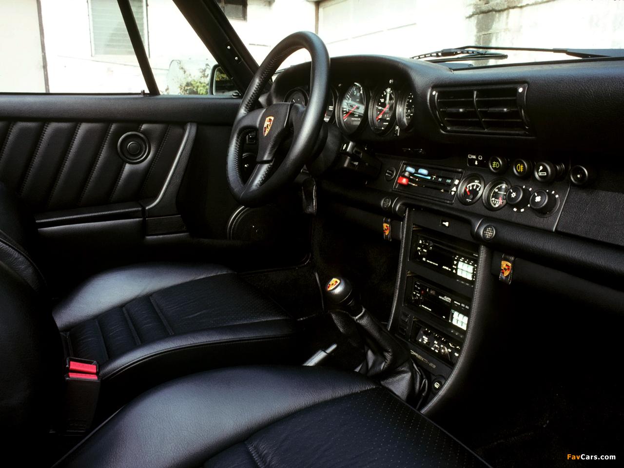 Porsche 911 Turbo 3 3 Flachbau Cabriolet Us Spec 930 1987 89 Wallpapers 1280x960
