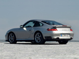 Porsche 911 Turbo S Coupe (996) 2003–05 wallpapers