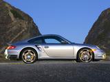 Porsche 911 Turbo Coupe US-spec (997) 2006–08 pictures