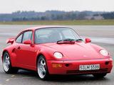 Porsche 911 Turbo 3.6 Flachbau (964) 1993–94 images