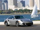 Porsche 911 Turbo Coupe US-spec (997) 2006–08 wallpapers