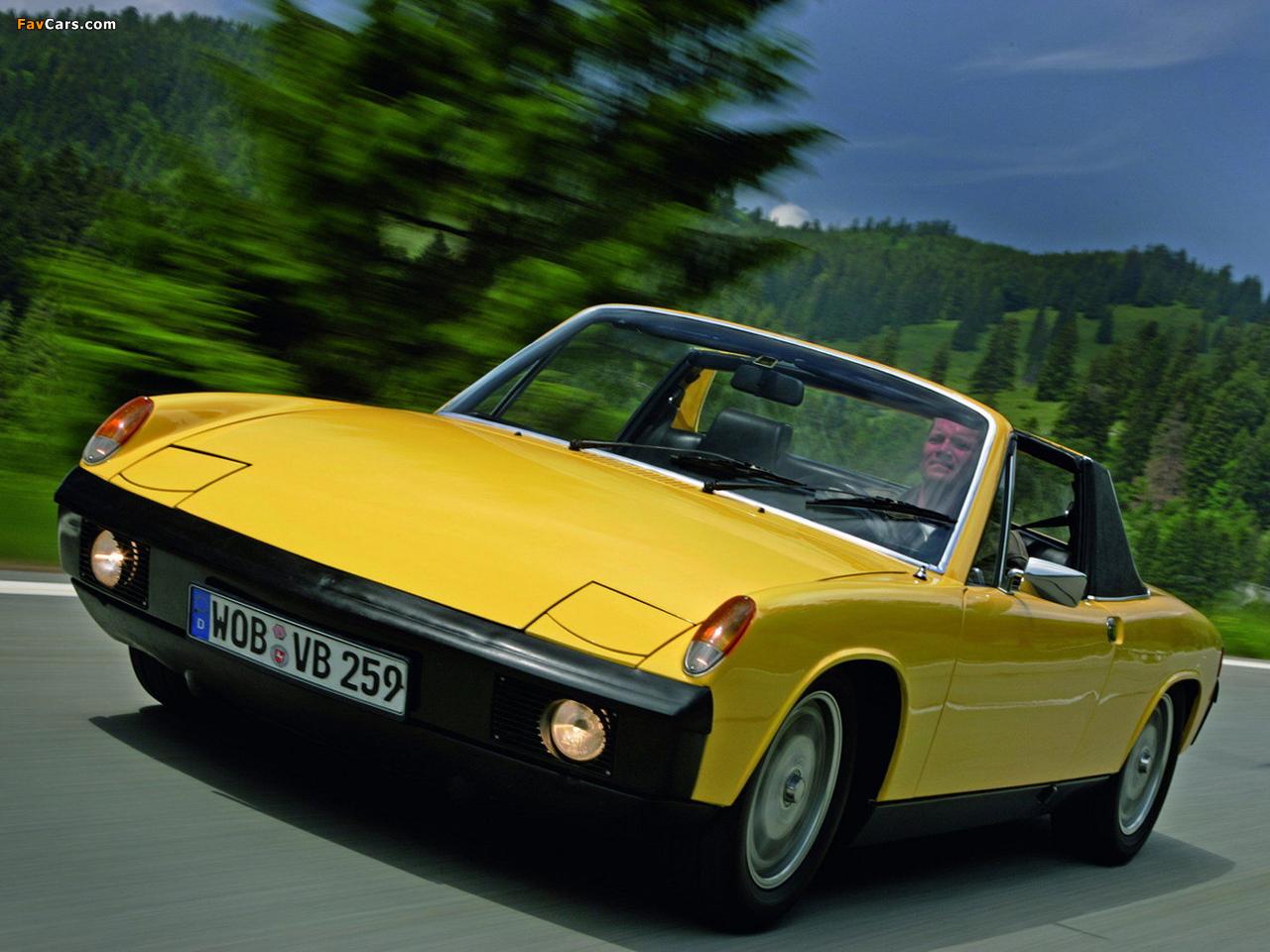 Photos of Porsche 914/4 1.7 1969–73 (1280 x 960)