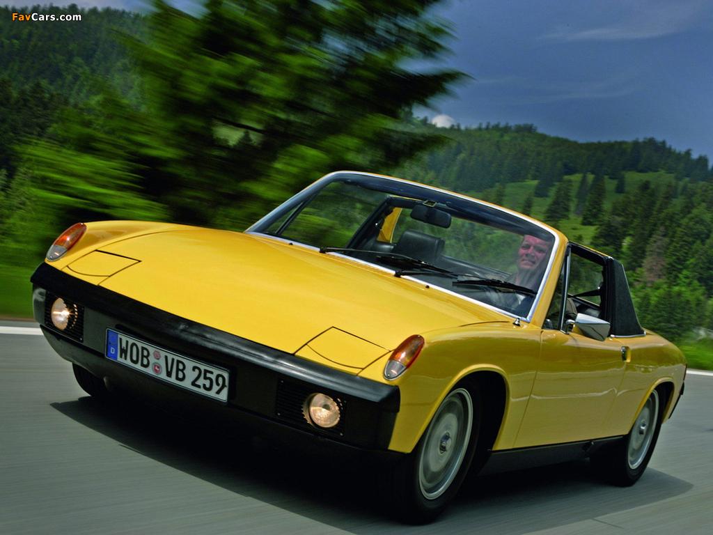 Photos of Porsche 914/4 1.7 1969–73 (1024 x 768)