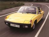 Pictures of Porsche 914/4 1.7 1969–73