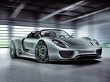 Images of Porsche 918 Spyder Concept 2010
