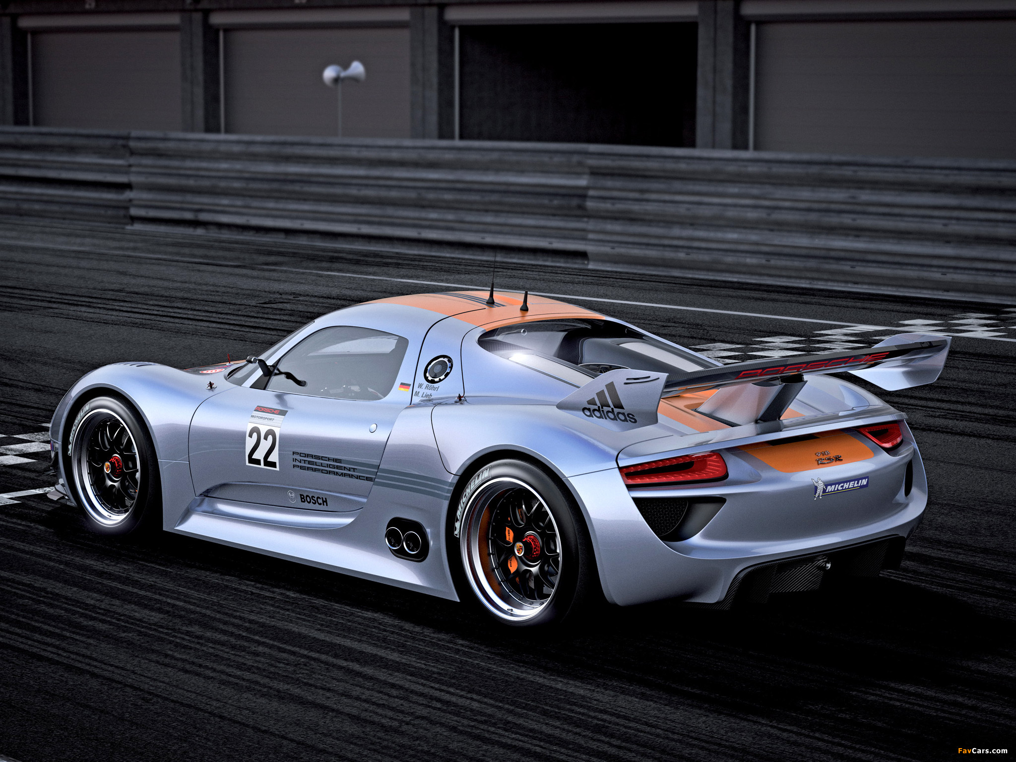 Images of Porsche 918 RSR Concept 2011 (2048 x 1536)