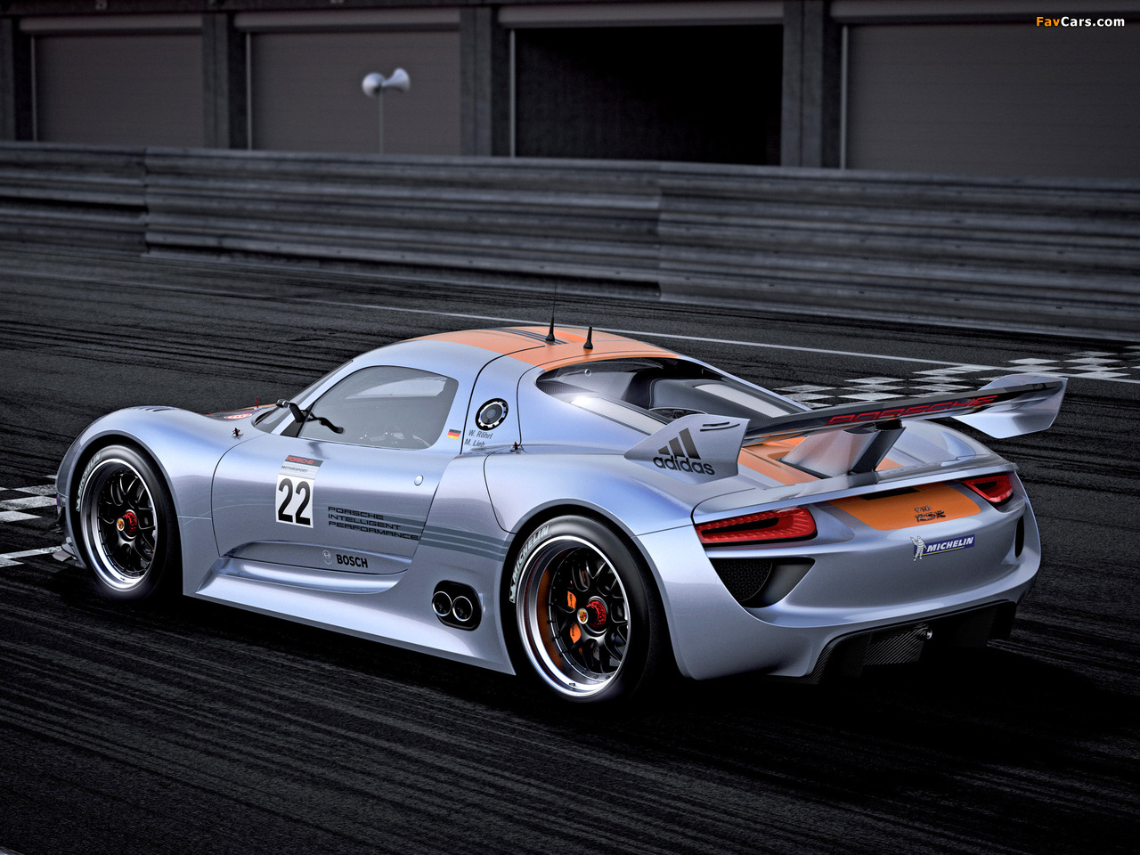 Images of Porsche 918 RSR Concept 2011 (1280 x 960)