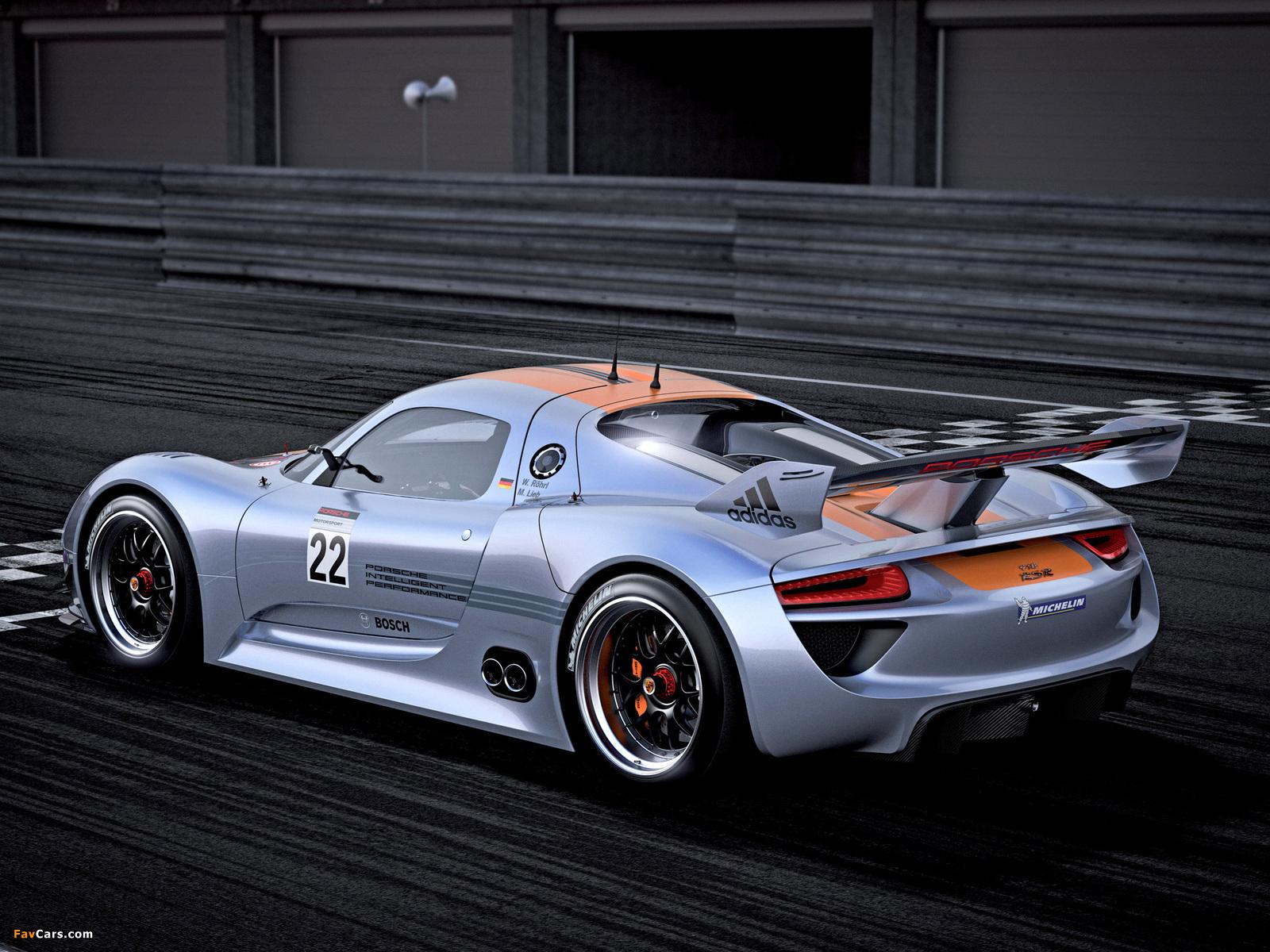 Images of Porsche 918 RSR Concept 2011 (1600 x 1200)